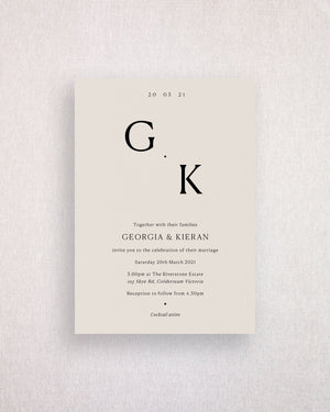 Georgia Invitation