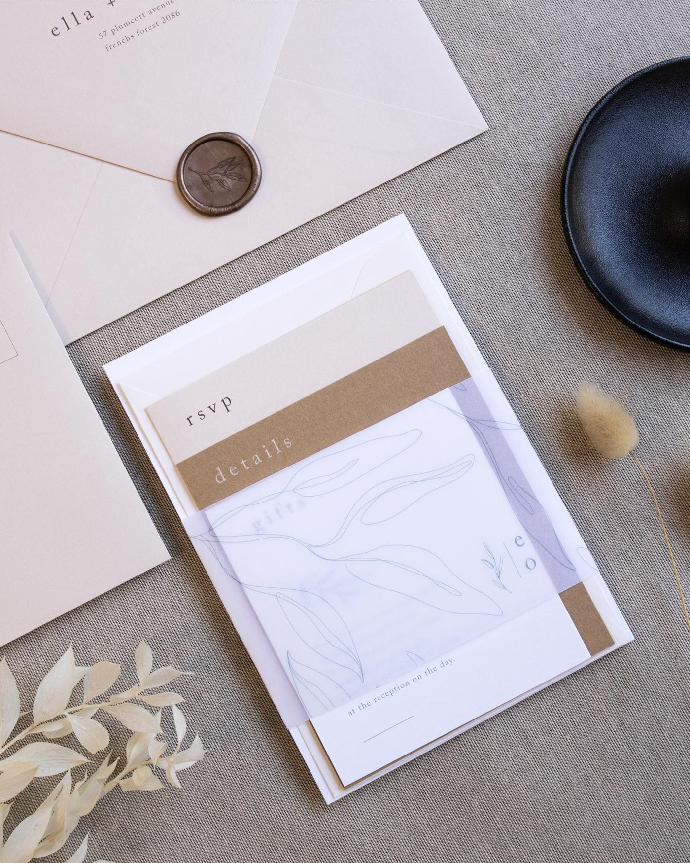 Habitat Coloured Invitation Envelopes