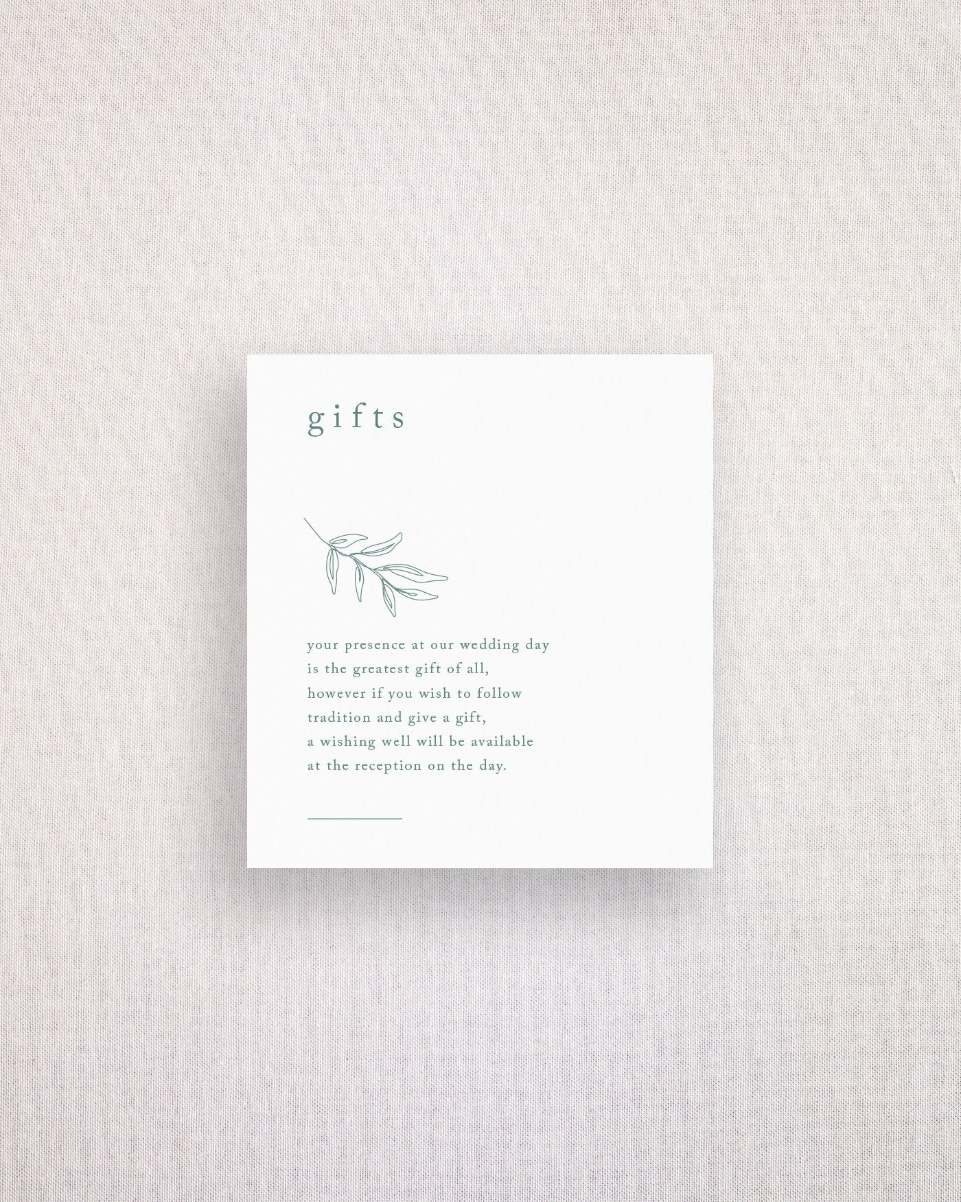 Habitat Note on Gifts
