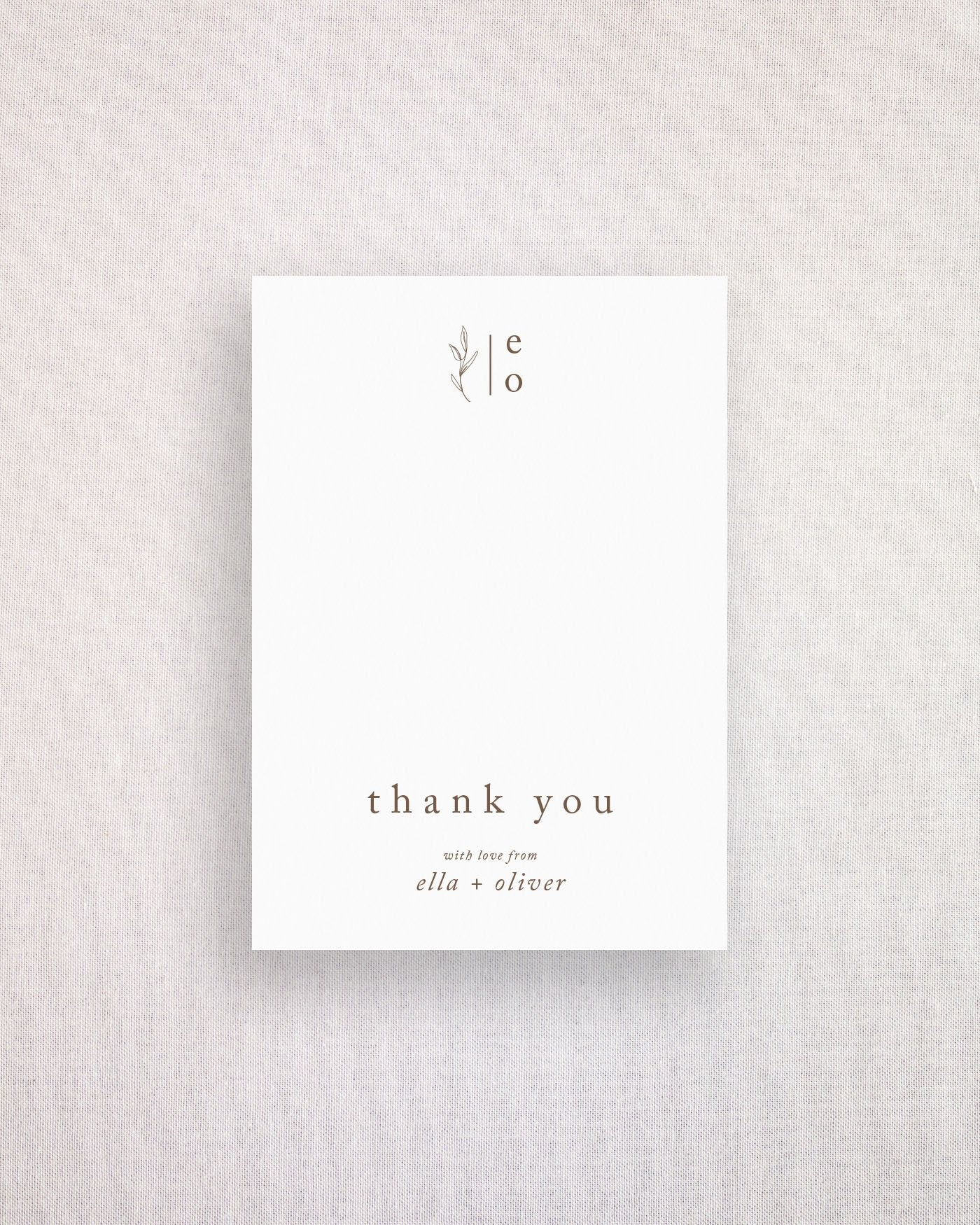 Habitat Thank you Card