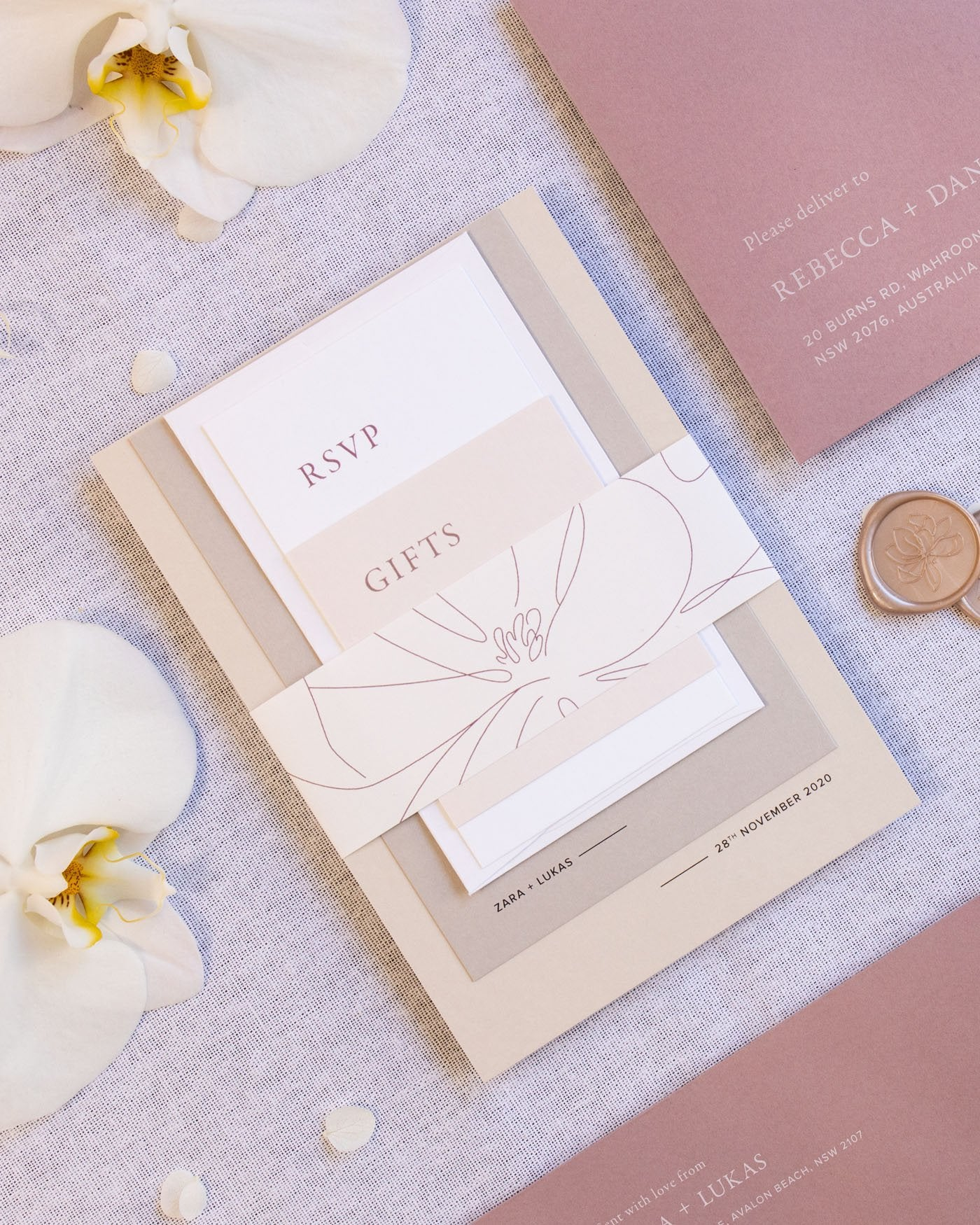 Magnolia Coloured C6 Envelopes