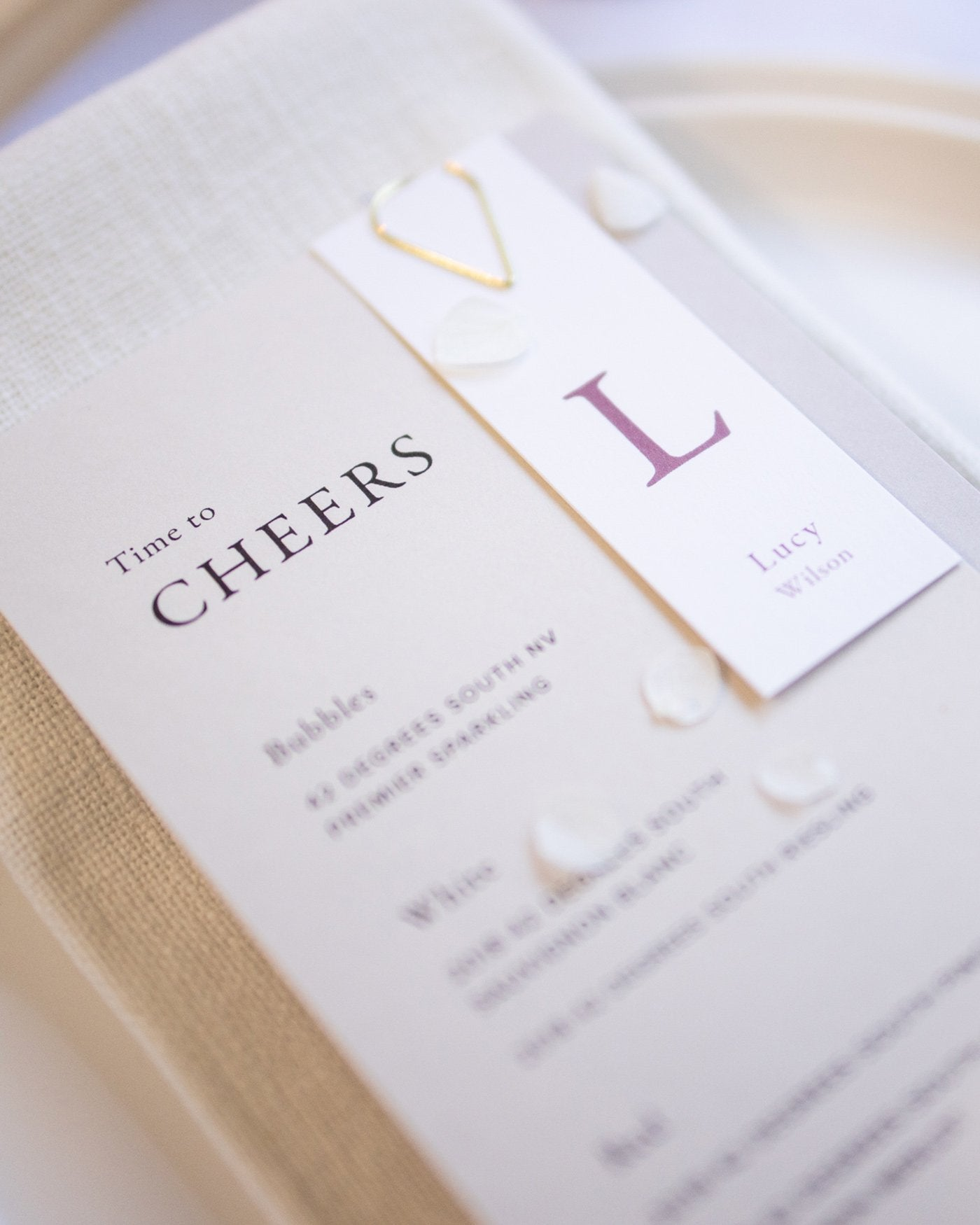 Magnolia Place Cards