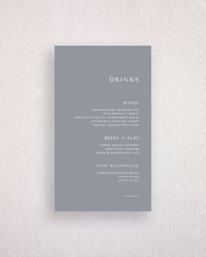 Melbourne Drinks Menu