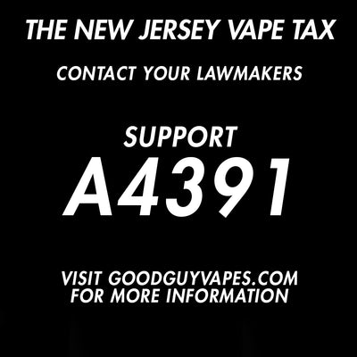 HELP US SAVE VAPING IN NEW JERSEY!