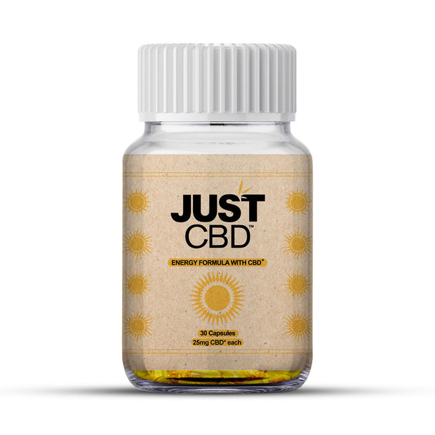 Just CBD 30ct Capsules - Energy