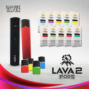 Lava 2 Pods - Pack of 4 Pods