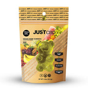 Just CBD Vegan Hemp Gummies - Mixed Fruit