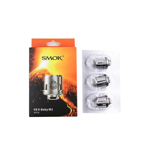 SMOK TFV8 X Baby Coils (Pack of 3 Coils)
