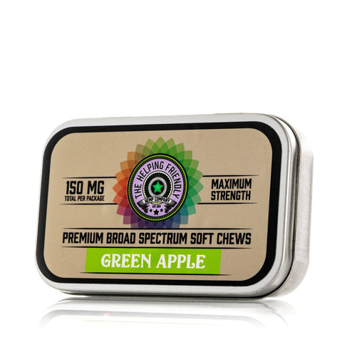 The Helping Friendly Broad Spectrum Soft Chews - Green Apple