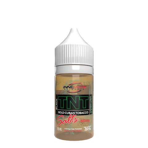 TNT Bold Cuban Tobacco Black Menthol Salts 50MG 30 ML