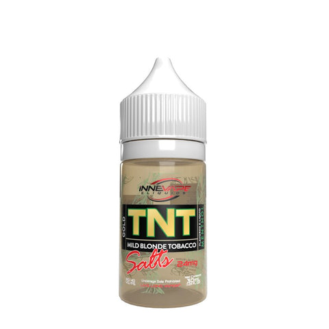 Innevape TNT Mild Blonde Tobacco Salts Gold Menthol 24 MG