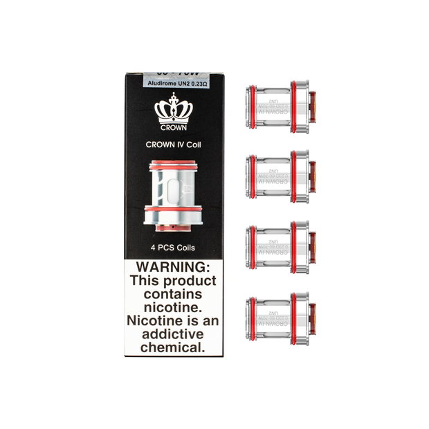 Uwell Crown 4 Coil - Pack of 4 Coils