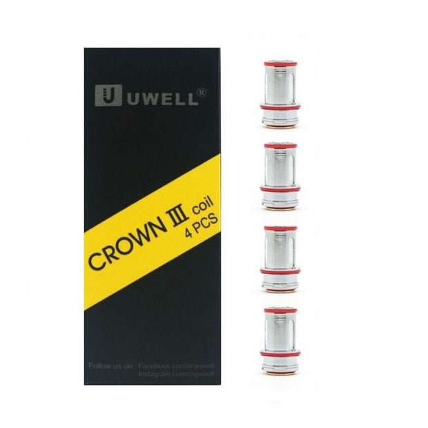 Crown III Coils (Pack of 4 Coils)