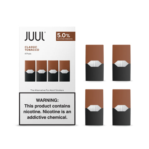 JUUL Classic Tobacco (Pack of 4 Pods)