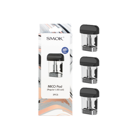 SMOK MICO Replacement Pod - Pack of 3 Pods