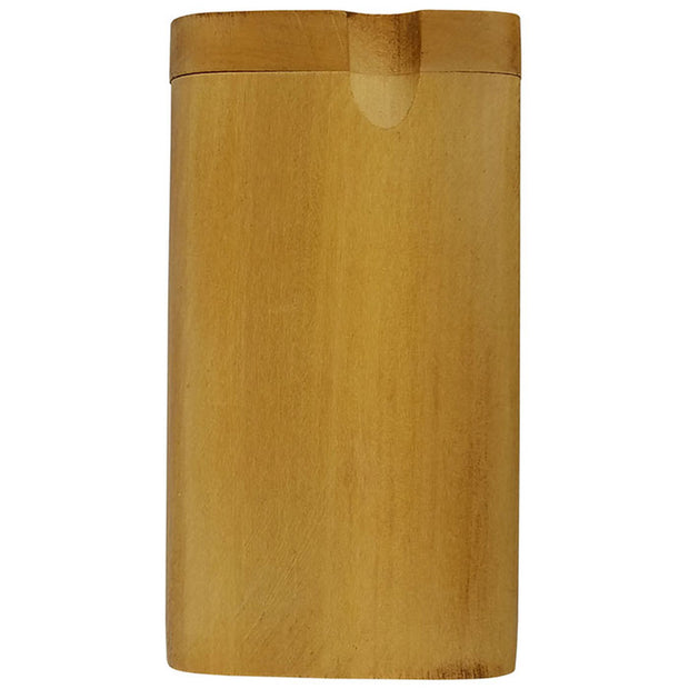"4"" Big Dugout Plain Light Wood"
