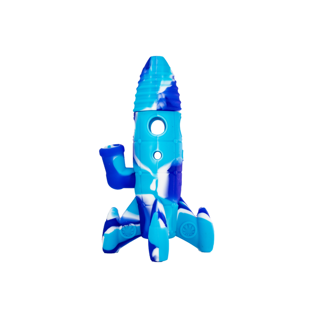 Silicone Rocket Ship Water Pipe