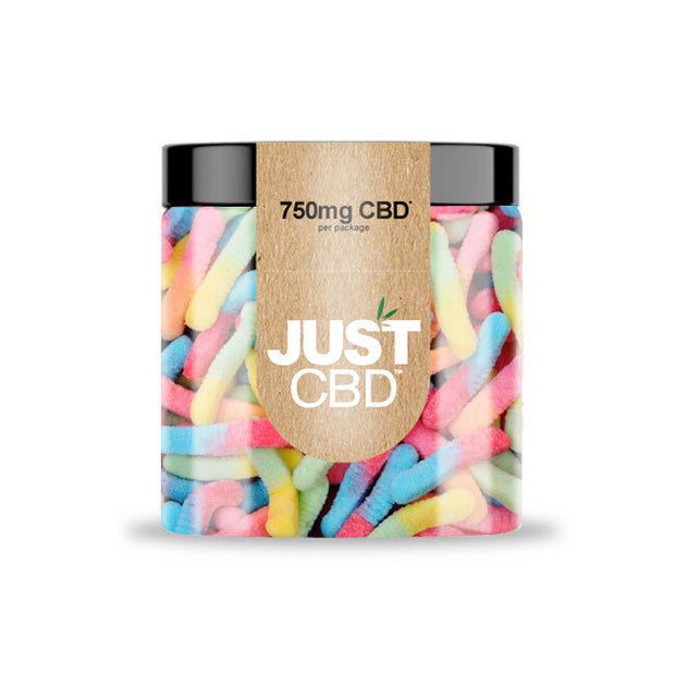 Just CBD Gummies - Sour Worms