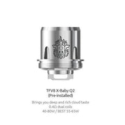 SMOK TFV8 X Baby Coil (Pack of 3 Coils)