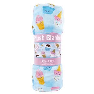 Ice Cream Treats Plush Blanket