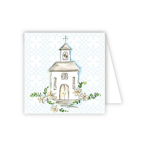 RosanneBeck Collections - Handpainted Wedding Chapel Enclosure Card