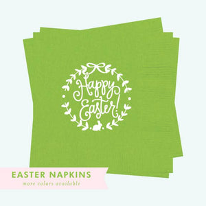 Napkins - Happy Easter!