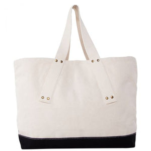 Canvas Grommet Tote