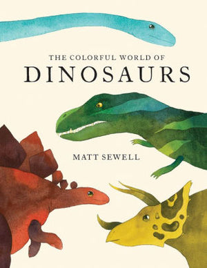 Colorful World of Dinosaurs Book