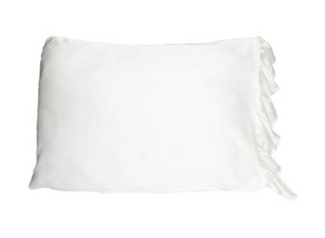 Silky Pillowcase with Ruffle