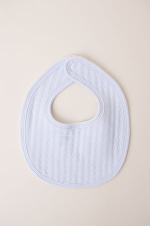 Cotton Bib with Monogram