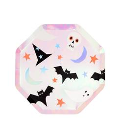 Halloween Icon Small Paper Plate