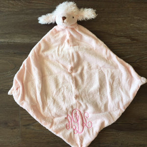Lovey Blankie with Monogram