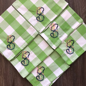 Buffalo Check Dinner Napkins