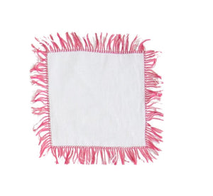 Colored Fringe Placemats