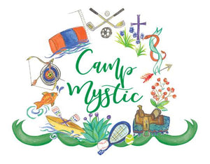 Camp Mystic Crest Note Cards