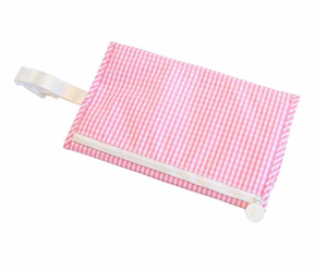 Gingham Changing Pad with Monogram