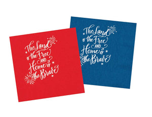 4th of July Paper Napkins