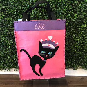 Friday the Cat Trick or Treat Bag