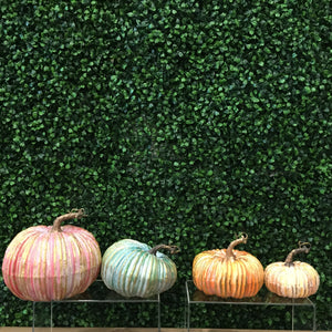 Gilded Colorful Pumpkins