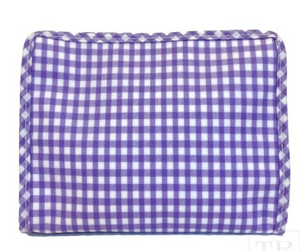 Gingham Cosmetic Bags with Monogram