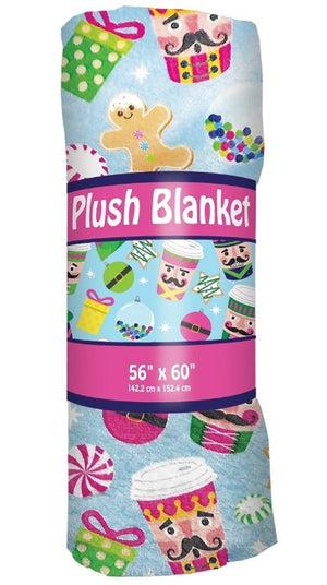 Nutcracker Plush Blanket