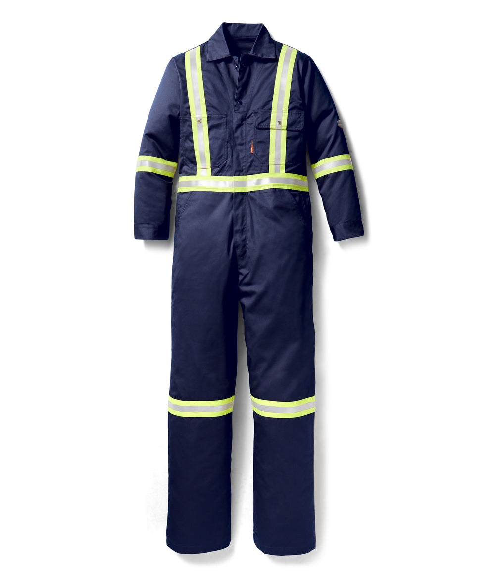 Rasco Navy Blue Premium FR Coverall w/ 2