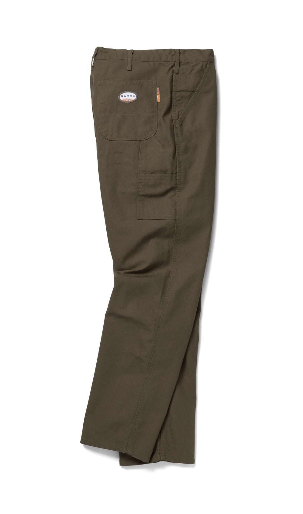 Flame Resistant Green Duck Carpenter Pants - CGF1216