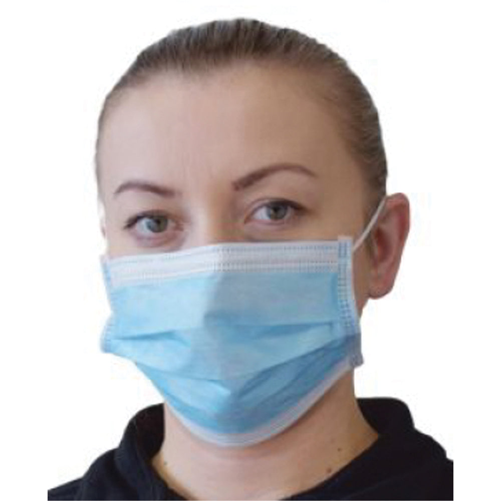 Disposable 3 Ply Surgical Face Masks box of 50