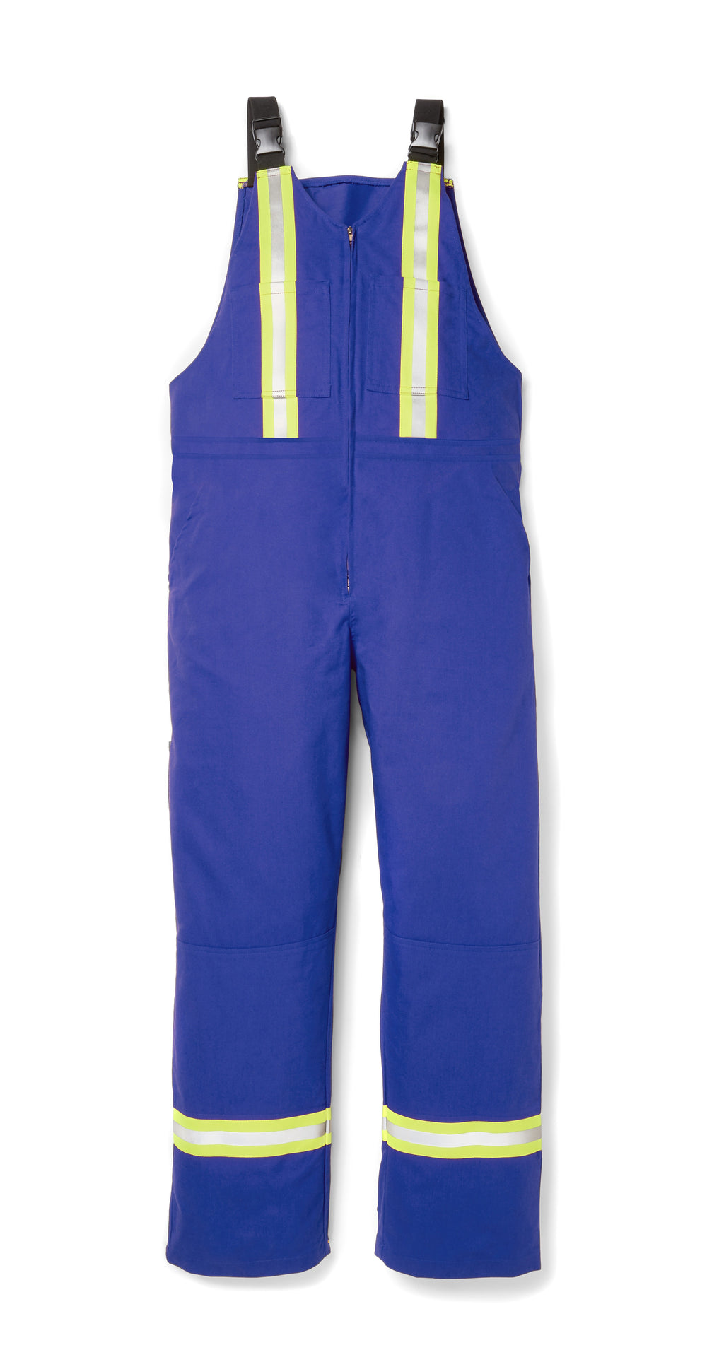 Rasco FR Royal Blue Light Weight Bib Overalls w/ 2'' CSA Reflective FR2505RB