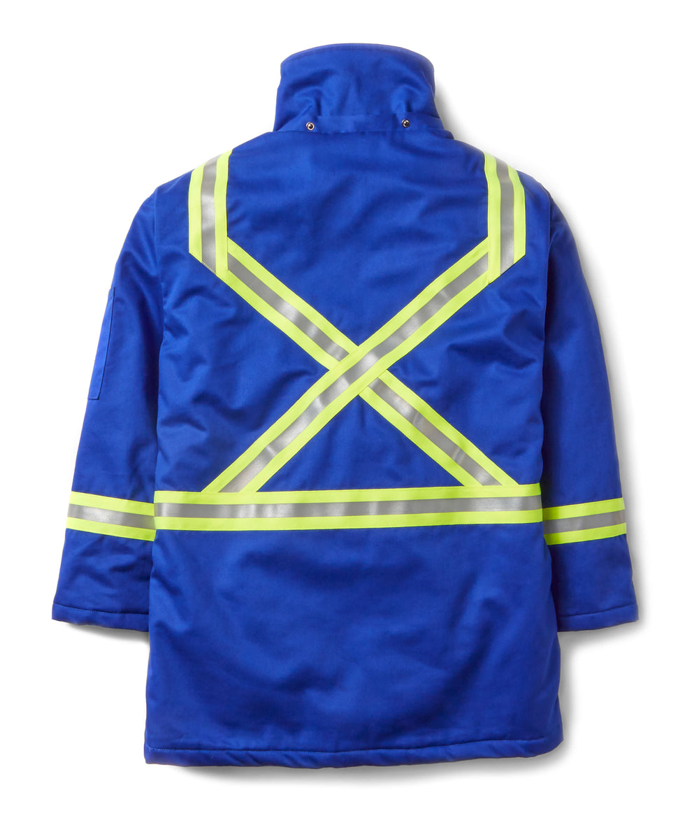 Royal Blue FR Parka Jacket w/ 2
