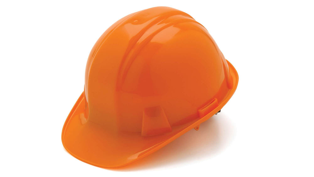 Orange SL Standard Hard Hat 4 Point