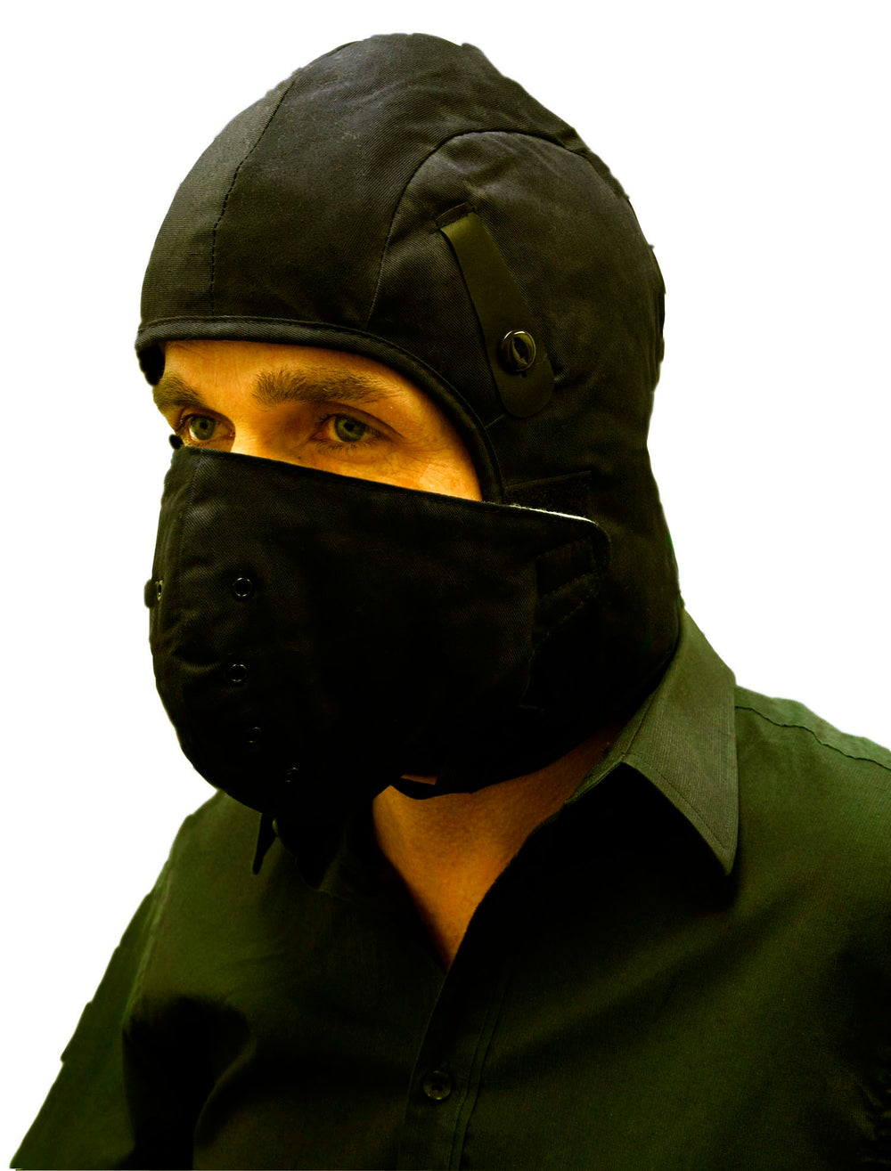 Dynamic FR Winter Hard Hat Liner With Detachable Face Mask