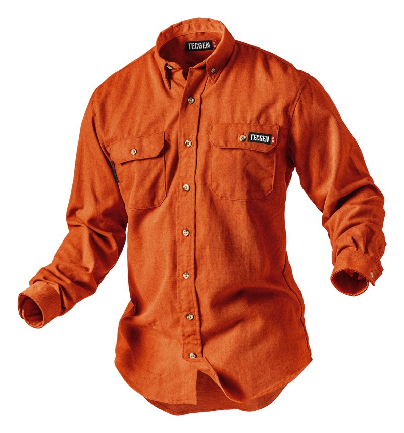 Tecgen Select 5.5oz Orange Lightweight Shirt