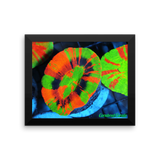 Cornbred Corals Crazy Scolymia Framed poster